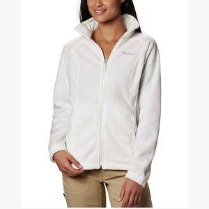 Columbia - Ivory Zipper Jacket Softshell Fleece 1X